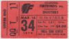 1979 AHL Binghamton Dusters at Philadelphia Firebirds ticket stub