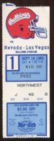 1985 NCAAF UNLV at Fresno State ticket stub