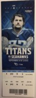 2017 Tennessee Titans ticket stub vs Seattle
