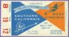 1959 NCAAF West Virginia at USC ticket stub