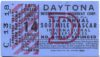 1960 Daytona 500 ticket stub