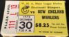 1976 WHA New England Whalers at Cincinnati Stingers ticket stub