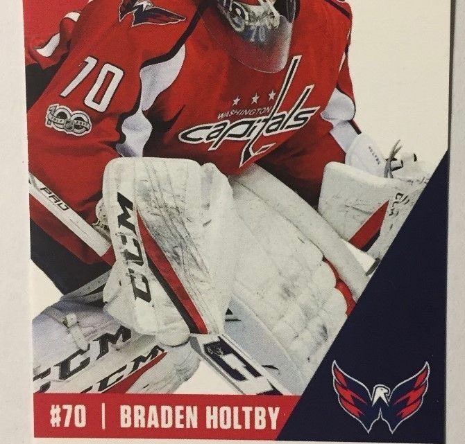 2017 NHL Hurricanes at Capitals ticket stub
