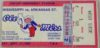 1985 NCAAF Arkansas State at Mississippi ticket stub