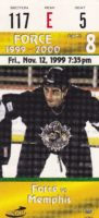 1999 CHL Memphis RiverKings at Fayetteville Force