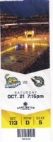 2017 ECHL Toledo Walleye ticket stub vs Mallards