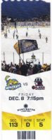 2017 ECHL Toledo Walleye ticket stub vs Oilers