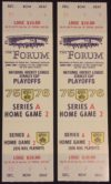 1976 NHL Playoffs Flames at Kings