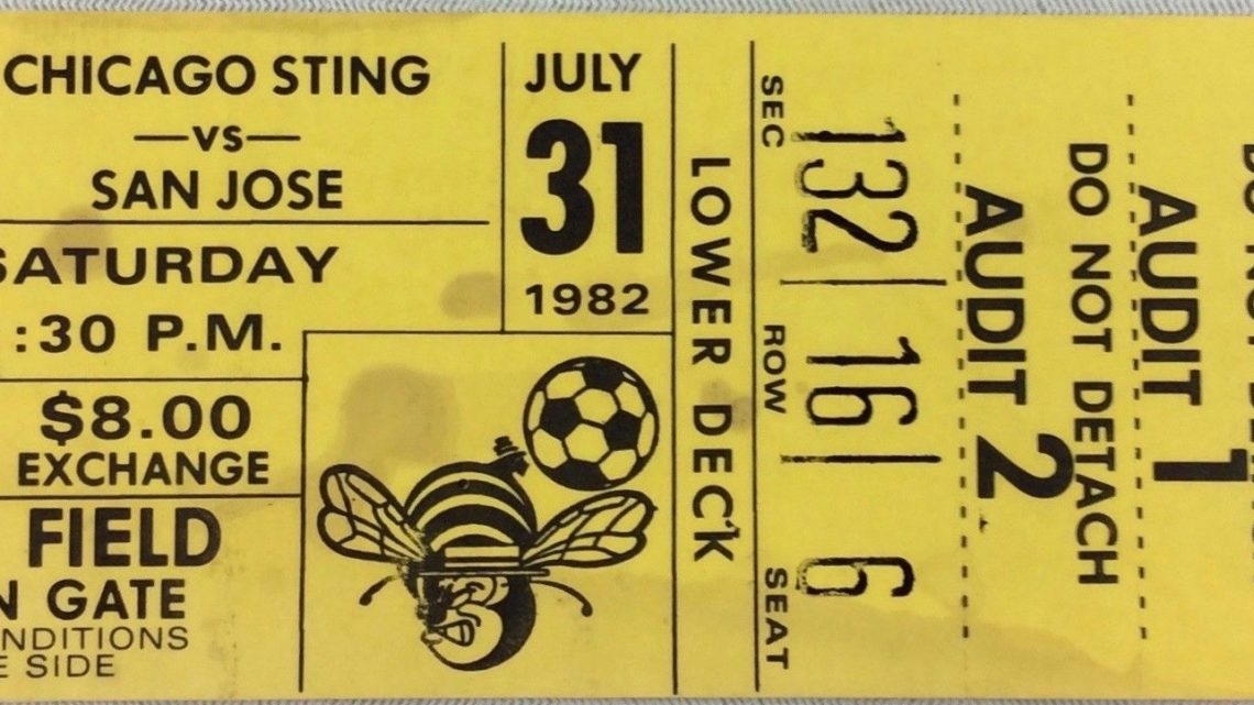 1982 NASL Earthquakes at Sting