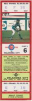 1985 American Association Oklahoma City 89ers at Iowa Cubs