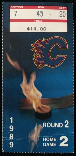 1989 NHL Playoffs Round 2 Game 2 Kings at Flames