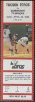 1989 PCL Trappers at Toros