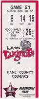1996 Midwest League Kane County Cougars at Lansing Lugnuts