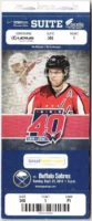 2014 NHL Buffalo Sabres at Washington Capitals ticket stub