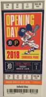 2018 MLB Pirates at Tigers Opening Day