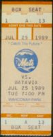1989 New York Penn League Batavia Clippers at Pittsfield Mets