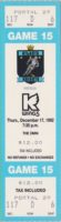 1992 IHL Atlanta Knights unused ticket vs Kalamazoo