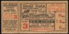 1929 World Series Game 3 Ticket Stub Athletics vs Cubs
