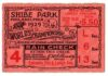 1929 World Series Game 4 Ticket Stub Cubs vs Athletics