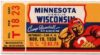 1938 NCAAF Minnesota at Wisconsin