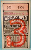 1932 World Series Game 3 Called Shot Ticket Stub