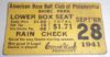 1941 Ted Williams seals 406 season batting average ticket stub