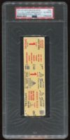 1974 Hank Aaron Home Run Record 715 full ticket
