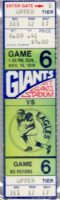 1978 NFL Eagles at Giants ticket Miracle at the Meadowlands