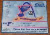 1996 Brett Hull 500th goal ticket stub Kings at Blues
