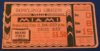 1941 NCAAF Miami Ohio ticket stub vs Bowling Green