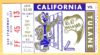 1960 California Football ticket stub vs Tulane