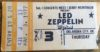 1977 Led Zeppelin ticket stub Oklahoma City