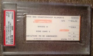 1980 Magic Johnson Playoff Debut