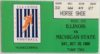 1990 NCAAF Illinois ticket stub vs Michigan State