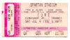 1992 The Cure Dinosaur Jr The Cranes ticket stub Spartan Stadium San Jose
