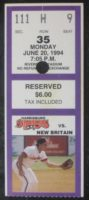 1994 Harrisburg Senators ticket stub vs New Britain Red Sox