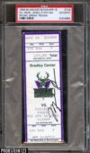 1996 Michael Jordan Signed 70th Win ticket stub