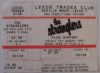 1999 The Stranglers ticket stub Leeds Trades Club