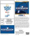 2017 World Series Game 7 ticket Dodgers vs Astros