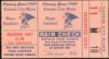 1954 Kansas City Blues Opening Day Ticket Stub