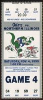 1995 NCAAF Northern Illinois at Florida