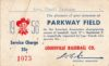 1956 Louisville Colonels Season Pass
