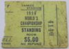 1958 NFL Championship ticket stub Colts vs Giants