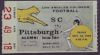 1959 NCAAF USC Ticket Stub vs Pittsburgh