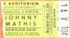 1984 Johnny Mathis at Ball State University