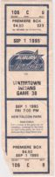 1995 MiLB Auburn Astros ticket stub vs Watertown Indians
