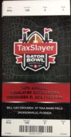 2018 Gator Bowl Ticket Stub Texas A and M vs NC State