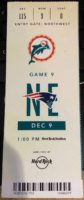 2018 NFL Dolphins ticket stub vs Patriots