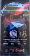 2018 Peach Bowl Ticket Stub Florida vs Michigan