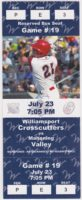 MiLB NY-Penn League Scrappers at Crosscutters